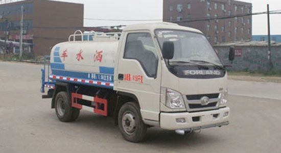 福田2吨洒水车