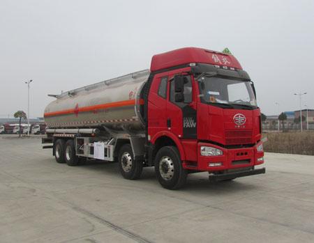 解放J6 铝合金运油车